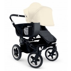 Bugaboo Donkey Mono Stroller Complete - All Black/Off White