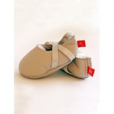 Elks and Angels Softest Welcome Slippers Natural