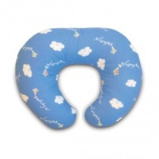 Boppy Support Pillow With Cotton Blend Slipcover - Kites