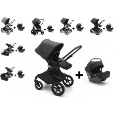 Bugaboo Fox Stoller with Turtle Infant Car Seat