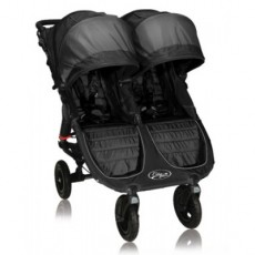Baby Jogger City Mini GT Lightweight Fold Double Stroller Black/Shadow
