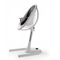 Mima Moon High Chair - Crystal / Black