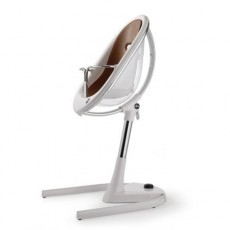 Mima Moon High Chair - Crystal / Camel