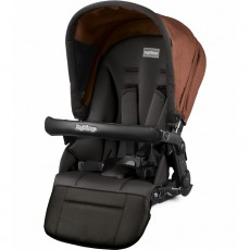 Peg Perego Pop-Up Seat For Team, Duette & Triplette Strollers - Terracotta
