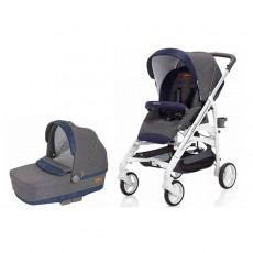 Inglesina Trilogy Stroller with Bassinet - Jeans