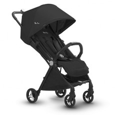 Silver Cross Jet Ultra Compact Stroller-Ebony Black