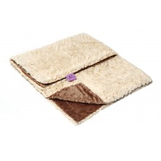 Magnolia Line Minky Ultra Soft Baby Blanket - Lux Brown