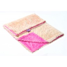 Magnolia Line Minky Ultra Soft Baby Blanket - Lux Pink