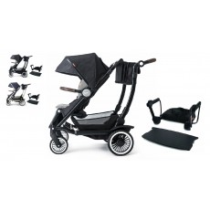 Austlen Entourage Stroller with Jump Seat Complete Package