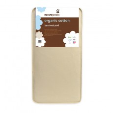 "Naturepedic Organic Cotton Portable Crib Mattress 18"" x 36"" x 2"""