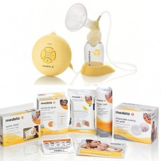 Medela Swing Electric Breast Pump Solution Set 67050BN Square