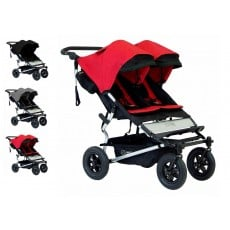 2016 Mountain Buggy Duet Double Stroller