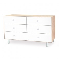 Oeuf Utility & Storage Merlin 6 Drawer Dresser - Birch/White