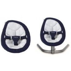 Nuna Leaf Baby Swing with Free Replacement Seat Pad - Navy