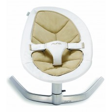 2019 Nuna Leaf Bouncer (Organic Cotton Insert) - Bisque