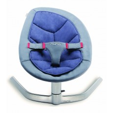 2019 Nuna Leaf Baby Seat Lounger and Swing - Blue