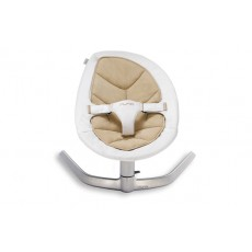 Nuna Leaf Baby Seat Lounger and Swing - Bisque