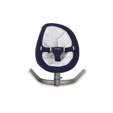 2019 Nuna Leaf Baby Seat Lounger and Swing - Navy