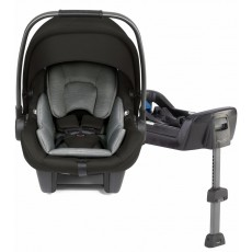 2019 Nuna Pipa Lite Infant Car Seat with Base - Ebony Black Lightest Car Seat