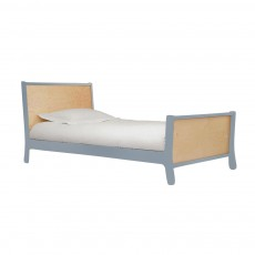 Oeuf Sparrow Twin Bed - Slate/Birch