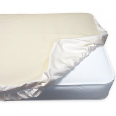 Naturepedic Organic Cotton Waterproof Protector Pad - Crib Fitted