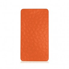 Nook Pebble Pure Crib Mattress Poppy Orange
