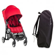 Baby Jogger City Mini Zip Stroller with FREE Travel bag - Red