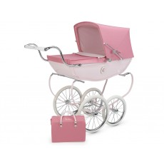 Silver Cross Oberon Hand-Crafted Doll Pram Stroller Pre-Order Rose