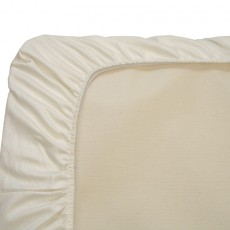 Naturepedic Organic Cotton Ivory Crib Sheet Invory