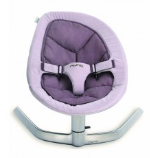 Nuna Leaf Baby Seat Lounger and Swing - Grape