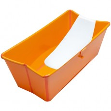 Stokke Flexi Bath with Newborn Support - Orange