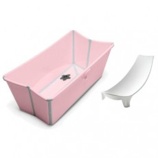 Stokke Flexi Bath with Newborn Support - Pink