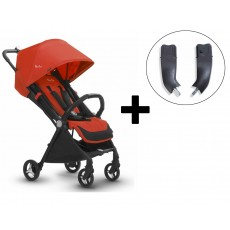 Silver Cross Jet Stroller and Car Seat Adapter Set - Mandarin
