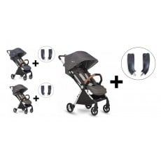 Silver Cross Jet Special Edition Stroller and Car Seat Adapter Set