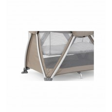 2019 Nuna Sena Pack and Play Playard Travel Crib with Bassinet - Safari