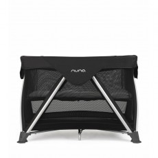2017 Nuna Sena Mini Aire Pack and Play Playard Travel Crib with Bassinet - Night