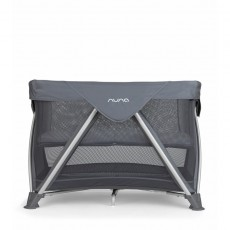 2017 Nuna Sena Mini Aire Pack and Play Playard Travel Crib with Bassinet - Graphite