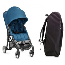Baby Jogger City Mini Zip Stroller with FREE Travel bag - Teal