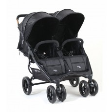 Valco Snap Duo 2 Stroller Lightweight Double Stroller - Black Beauty