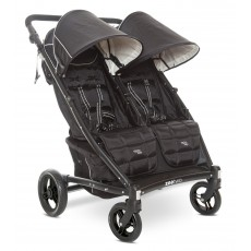 Valco Baby Zee Two Easy Push Double Stroller - Jetster Black