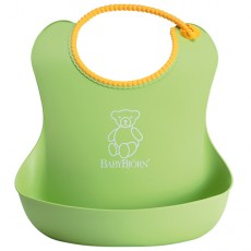 Baby Bjorn Well-Designed and Comfy Soft Bib Green