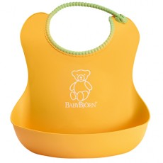 Baby Bjorn Well-Designed and Comfy Soft Bib Yellow