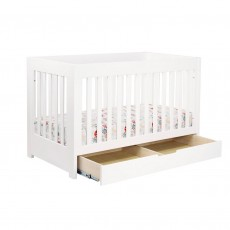 Babyletto Mercer 3-in-1 Convertible Crib with Toddler Rail White