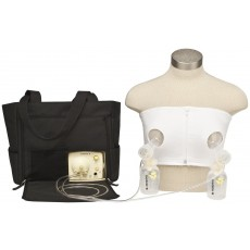 Medela Easy Expression Hands-Free Bustier White Small