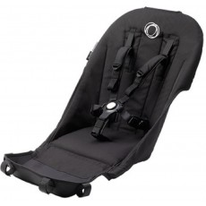 Bugaboo Runner Seat Fabric With Comfort Harness - Black