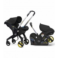 Doona Infant Car Seat Stroller with Base  - Black Night