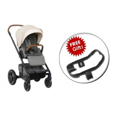 2019 Nuna MIXX stroller + Ring Adapter - Birch