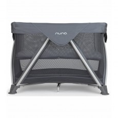Nuna Sena Aire Pack and Play Playard Travel Crib with Bassinet - Graphite