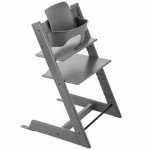 Stokke Tripp Trapp Baby High Chair & Baby Set - Storm Grey