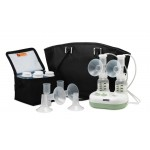 Ameda Purely Yours Ultra Electric Breast Pump With CustomFit Flanges